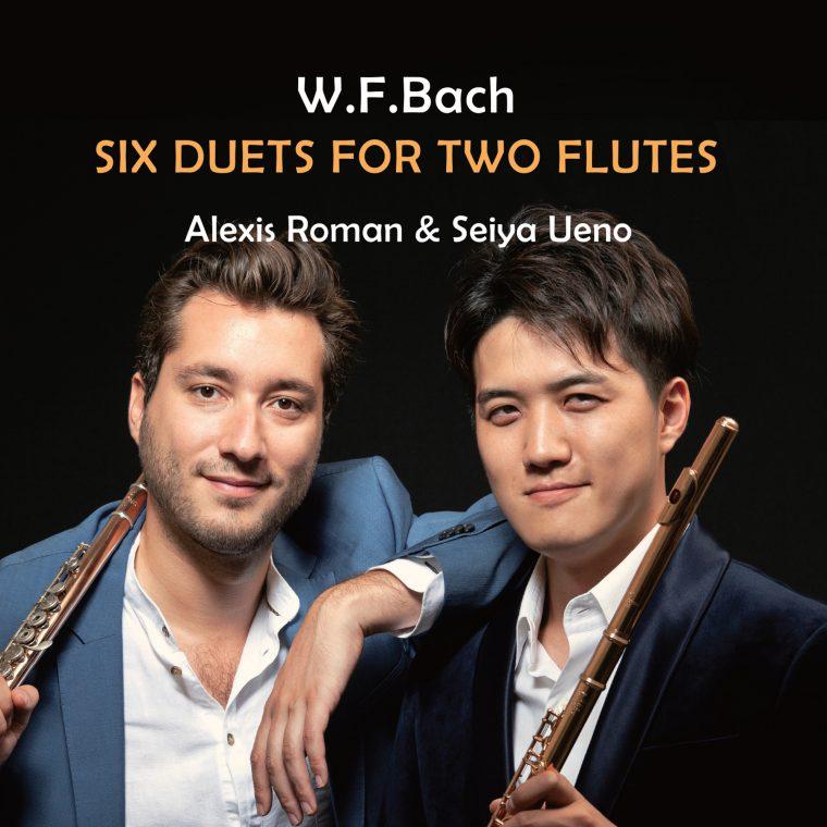「W.F. バッハ: 2本のフルートのための二重奏曲集」